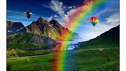 Nature 4k Rainbows