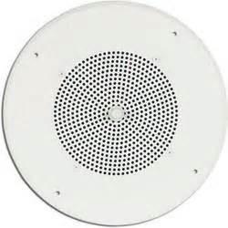 bogen ceiling speaker s86t725pg8wvk bogen communications ceiling speaker assembly