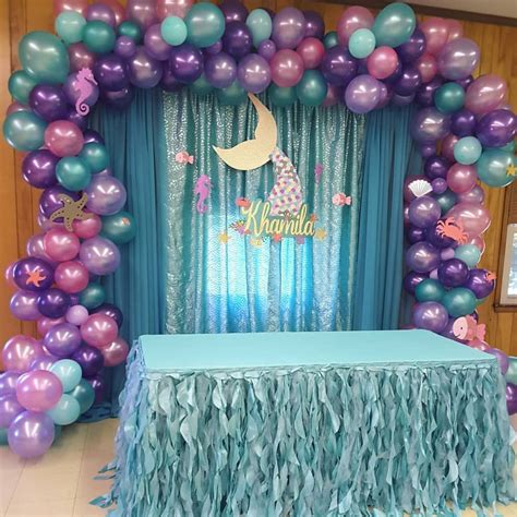 Diy Theme Backdrop by Today S Backdrop Underthesea Partydecoration