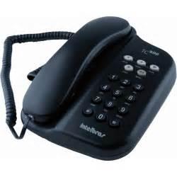 design telefone tc 500 telefone chave preto