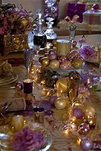 1000 images about Pretty Purple And Gold Christmas