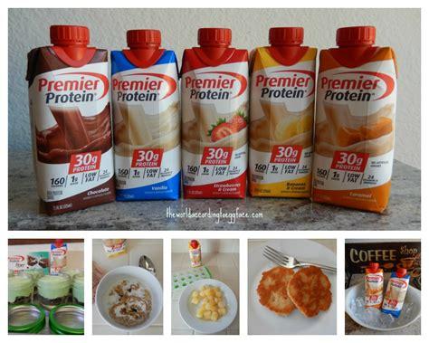 m騁ier cuisine theworldaccordingtoeggface premier protein shakes 5 ways to enjoy them
