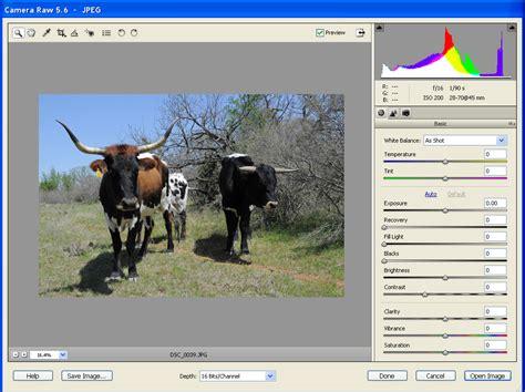 adobe camera raw    raw files
