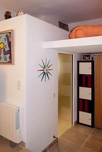 Studio Mezzanine Paris : mezzanine petit espace ~ Zukunftsfamilie.com Idées de Décoration