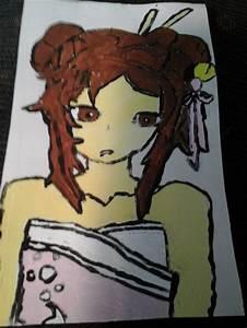 The Tired Anime Girl by creativegirl40 on DeviantArt