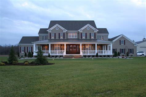 Homes with Wrap around Porch Farm House