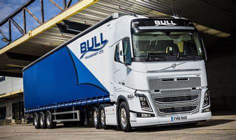bull transport buys  volvo fh tractor units