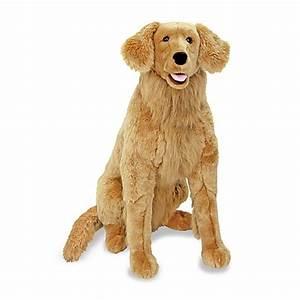 Buy Melissa & Doug® Golden Retriever Dog Giant Stuffed ...