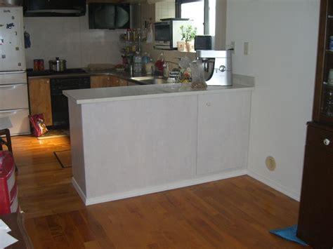 cuisine à l américaine fabrication comptoir pour cuisine à l 39 americaine