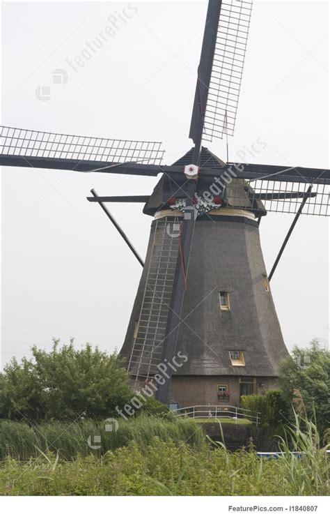 picture  dutch windmill