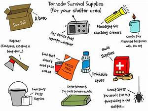 Illustrated Guide To Tornado Safety