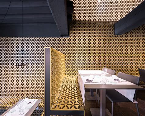 Inside New Ábaco Restaurant By Gvg Estudio In Pamplona