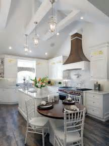 cathedral ceiling kitchen lighting ideas vaulted ceiling kitchen design ideas remodel pictures