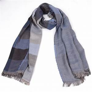 free ship 2016 tartan Scarves men winter new brand Fashion ...