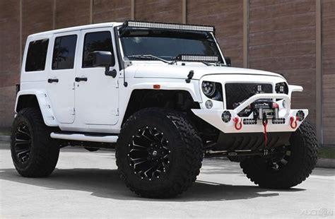 jeep wrangler white 4 door custom 1c4bjwdg7gl331022 2016 jeep wrangler sport unlimited