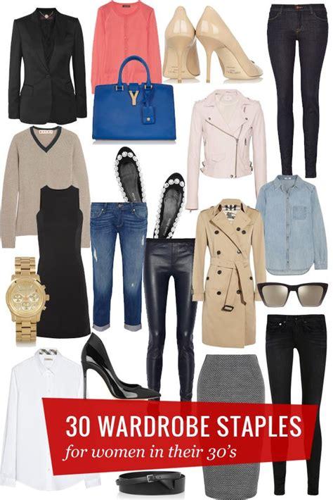Kleiderschrank Neu Gestalten by 30 Wardrobe Staples Such A Read My Personal Style