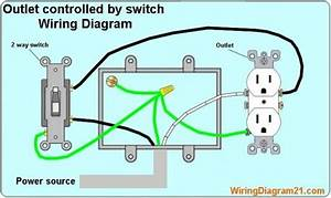 How To Wire A 2 Way Switch To An Outlet