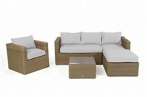Rattan Lounge Grau : berzug grau f r brooklyn rattan lounge ~ Watch28wear.com Haus und Dekorationen