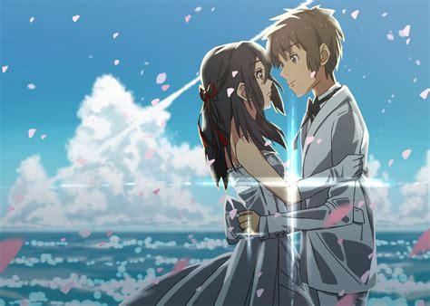 Anime Couple Terpisah Kimi No Nawa Kimi No Nawa Anime Couples Pinterest Anime Anime