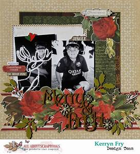all about scrapbooks australia merry bright using With kaisercraft letters to santa