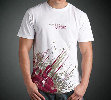 qatar souvenirs  shirt designs  behance