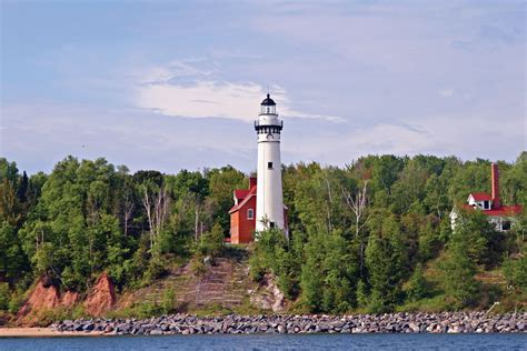 apostle islands lighthouse celebration  devils island