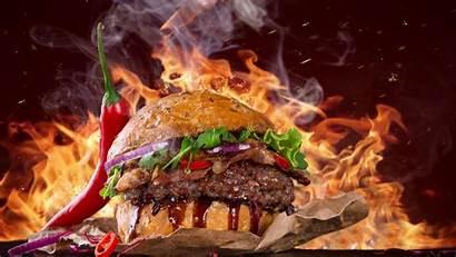 Fast Burger Steak Fire 5k Pepper Wallpapers