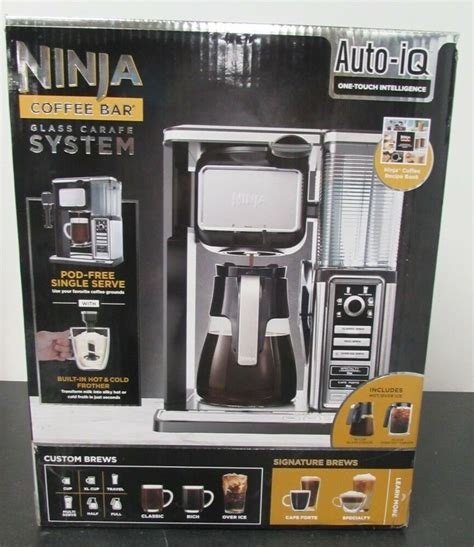 The ninja coffee maker comes with a reusable filter, a glass frother, 5 paper filters, a coffee scoop, a ninja coffee bar vs nespresso. Ninja Coffee Bar System Hot & Ice Coffee Carafe w/Frother CF090A 622356544016 | eBay