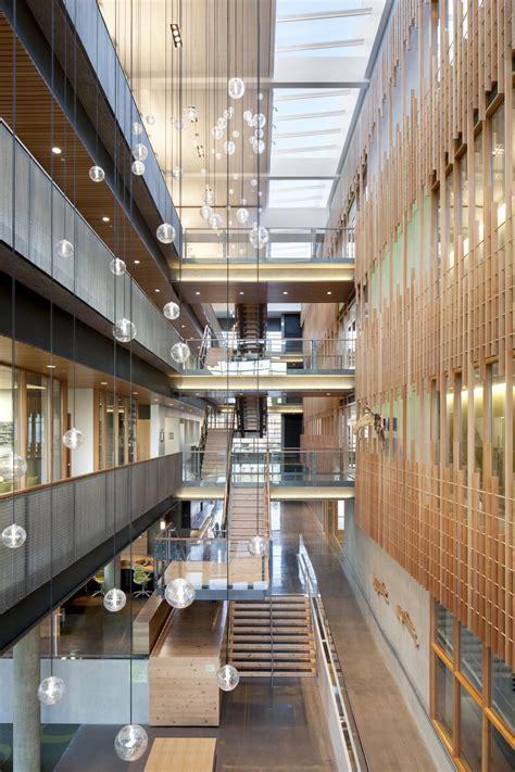 alumni center tva architects archdaily