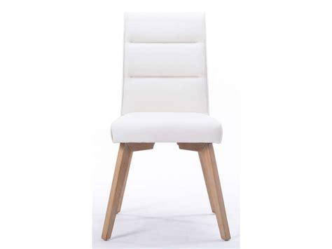 canapé housse chaise ines coloris blanc vente de chaise conforama
