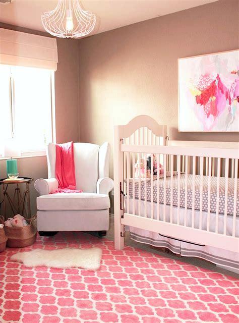 Pink And Grey Nursery Rug by Emily S Artsy Traditional Nursery Project Nursery