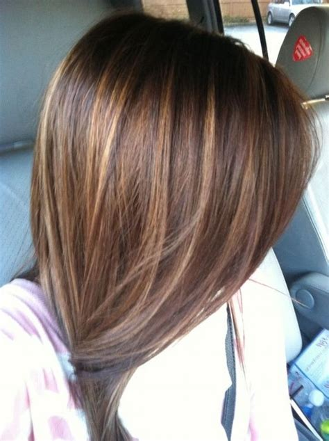 brown long hairstyle color ideas  highlight long