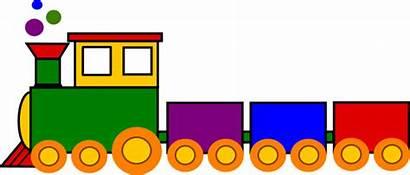 Train Clker Clip Cartoon Clipart Crafts Children