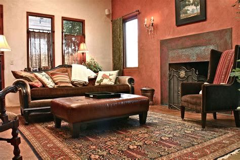 themes rust living room that looks quite shady and