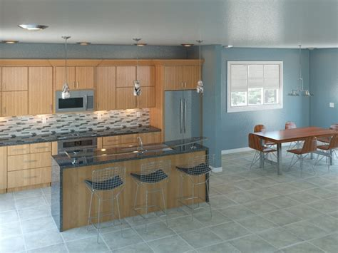 paint for kitchen cabinets this blue grey color blue kitchen sles 3928