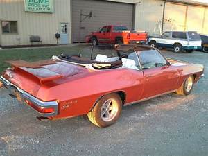 1971 Pontiac Lemans Sport 5 7l  Resto Mod  Convertible For