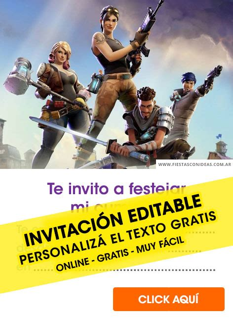 fortnite birthday invitations  edit