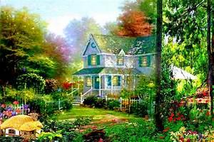 Garden Design With Landscaping U Landscape House Wallpaper