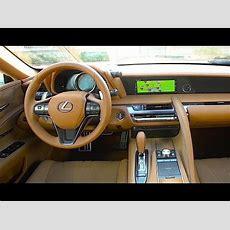Lexus Lc 500 Interior Review 2018 New Lexus Lc500 Hybrid