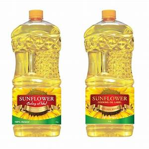 GOLDEN RIVER SUNFLOWER OIL | Product label contest