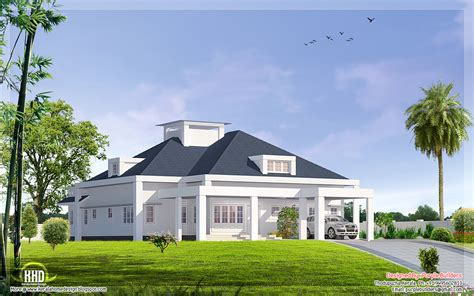 3000 sq.feet single floor bungalow design