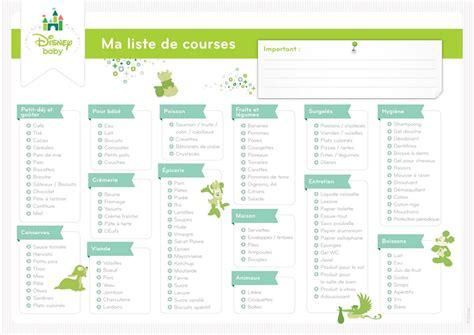 Les 12 Listes De Courses Prêtes à Imprimer