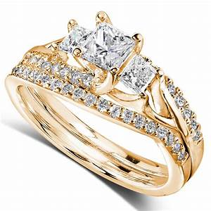 Bridal sets buy bridal sets in clothing shoes jewelry for Sears wedding ring sets