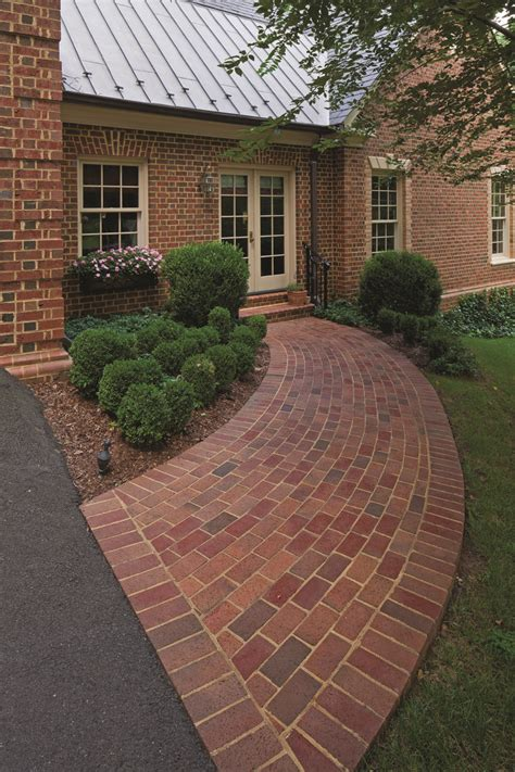 brick walkway patterns paver walkway running and patterns on pinterest