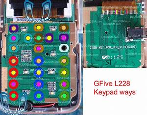 Cell Firmware  Gfive L228 Keypad Not Working Problem