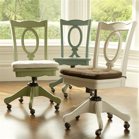 pottery barn office desk chair office chairs for the home office desk