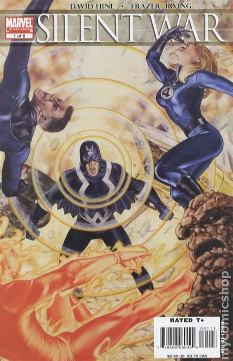 silent war  comic books