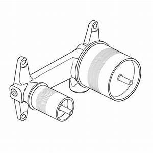Ideal Standard Duscharmatur Unterputz : ideal standard unterputz bausatz 1 f r wand waschtischarmatur a5948nu reuter ~ Yasmunasinghe.com Haus und Dekorationen