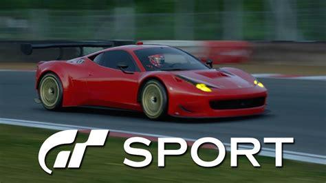 Gt Sport Closed Beta  Ferrari 458 Italia Gt3 '13 @ Brands