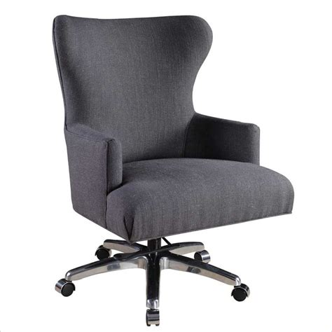 furniture felton charcoal fabric executive office